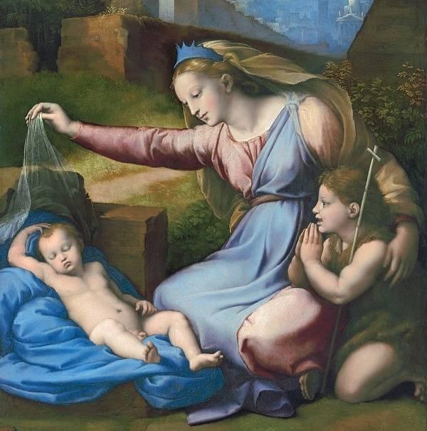 Madonna with a Blue Diadem